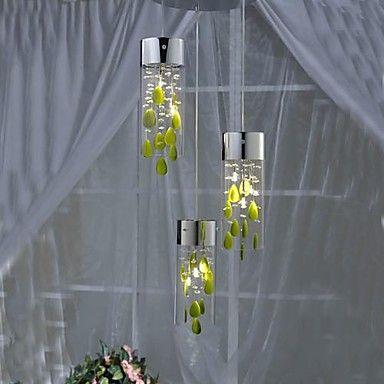 restaurantes de lujo minimalistas utilizan lámparas de techo de cristal – EUR € 171.91