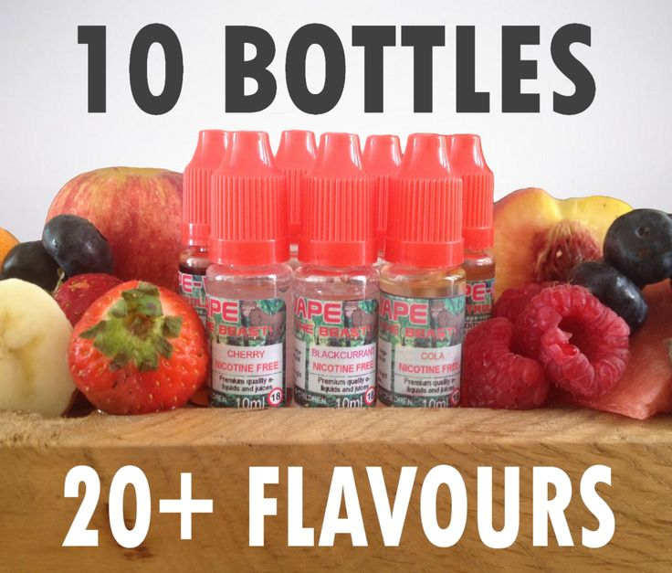Mix n Match Your Favourite Juice Flavours With Our 10 x 10ml Ejuice Multi-Pack, Just £14.95! http://ape-vape.co.uk/collections/e-liquid/products/10-x-10ml-e-liquid-standard-flavours