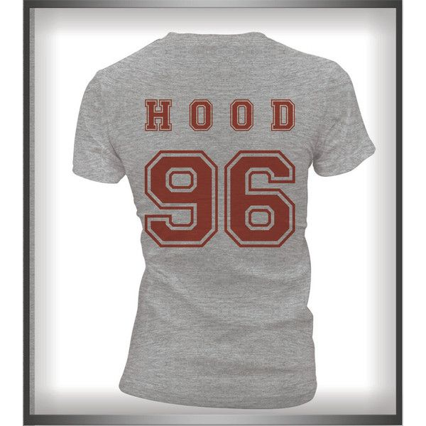 Hood 96 Calum Hood 5sos Women Tee Tshirt Heather Grey or Maroon Color (24 CAD) ❤ liked on Polyvore featuring tops, t-shirts, maroon, women's clothing, maroon top, hooded tee, heather grey t shirt, heather grey tee and hooded t shirt