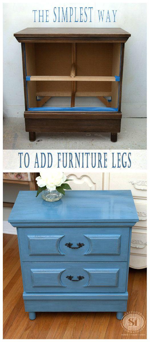 114 best adding furniture legs images on pinterest | furniture