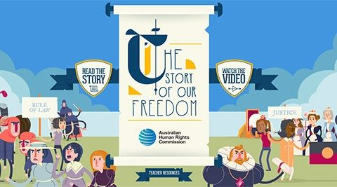 Magna Carta: The Story of Our Freedom - human rights site - includes animated video on Youtube. Part of citizenship and civics curriculum