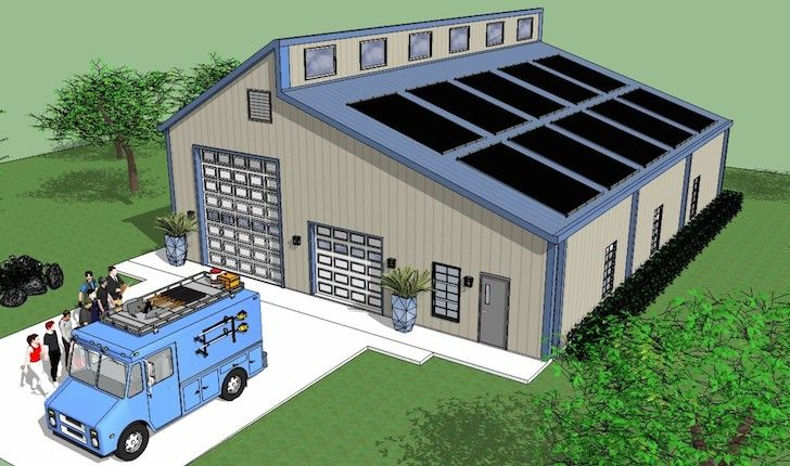 78 best ideas about rv garage on pinterest boat garage rv garage plans and barn garage - Garage for rv model ...