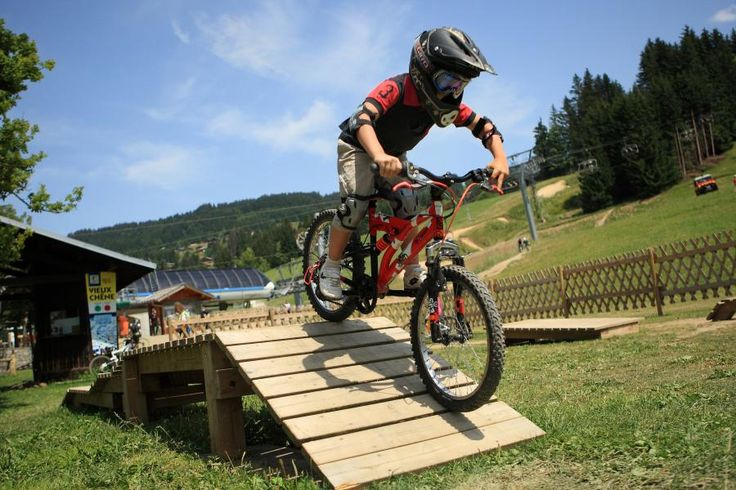 MTB Bike Park in het Franse Les Gets! Kids Zone aanwezig! Open in de zomer t/m begin september.