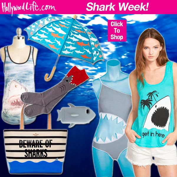 Shark Week 2015: Take A Bite Out Of Fashion Finds