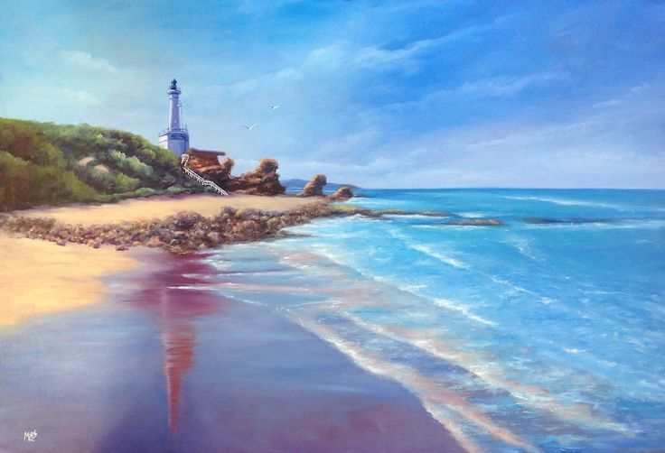 'Point Lonsdale Lighthouse' one of my favourite subjects and how could I resist those fabulous reflections in the wet sand.