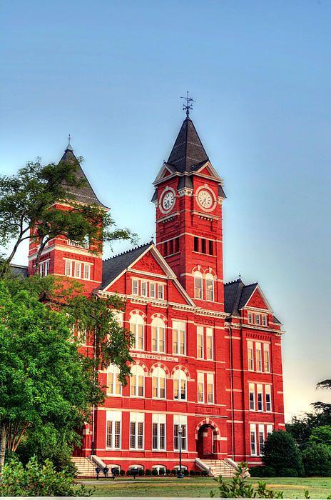 Auburn University, Alabama-shhhhh I thinks it's pretty.  Don't tell my husband!