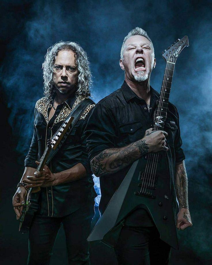 ♥2016 *-* Kirk and James brutal metal man \m/♥