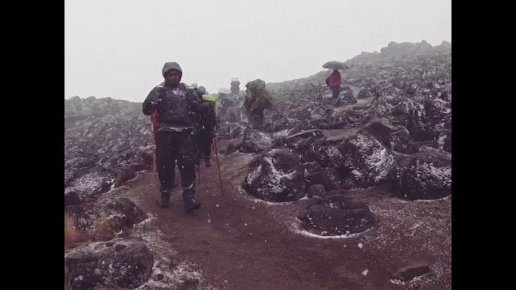 Mt Kilimanjaro shower - YouTube