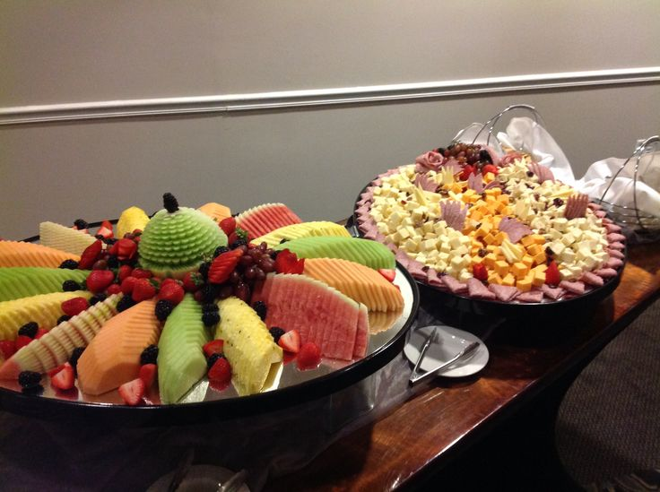 Canadian Honker Events at Apace; Rochester, MN #fruitdisplay #meatandcheesedisplay
