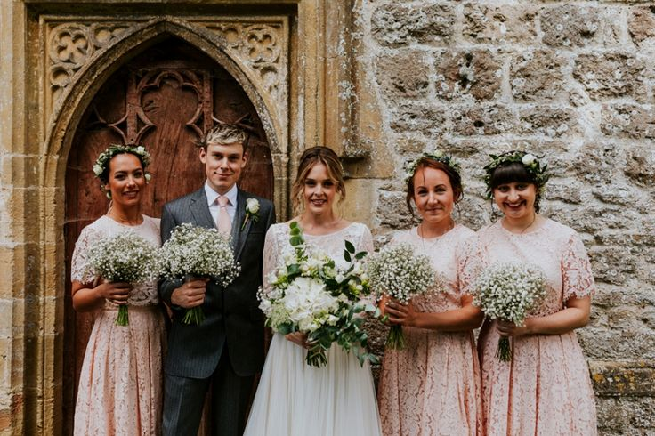 What do you do when you want to make your brother a bridesmaid? Put him in a lovely suit, give him a bouquet and make him your bridesman :) Photo by Benjamin Stuart Photography #weddingphotography #bridesmaids #bridesman #weddingflowers #bouquet #groupphoto #bridalparty