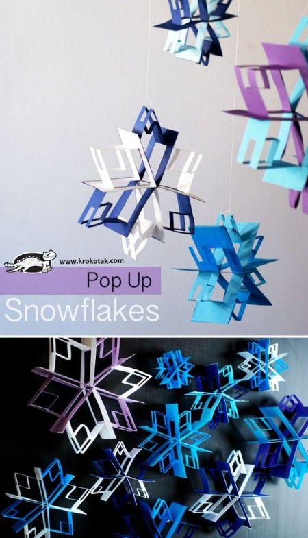 Snowflakes Craft Paper
