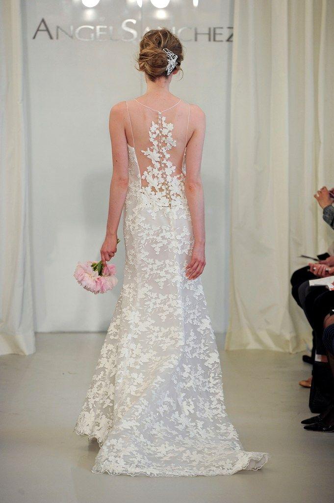 127 best Angel Sanchez images on Pinterest   Wedding frocks, Short ...