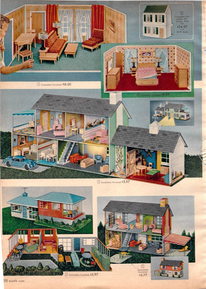 1957 Doll Houses