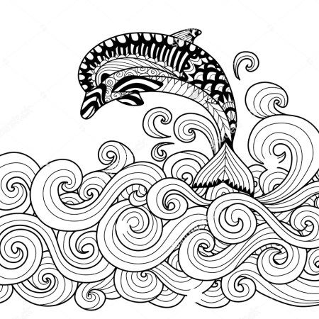 Hi coloring lovers!. If you are looking for sites giving coloring file like Zentangle dolphinpictures, then you will find it so many.Whether you are big