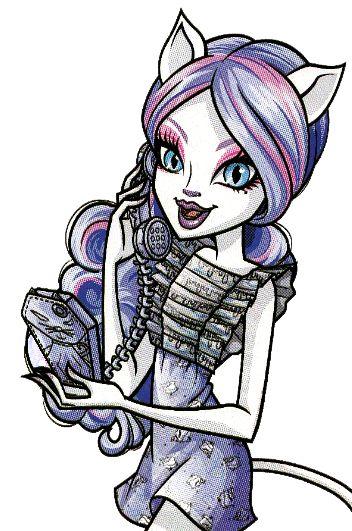 Catrine DeMew. Ghoul Chat. Profile art