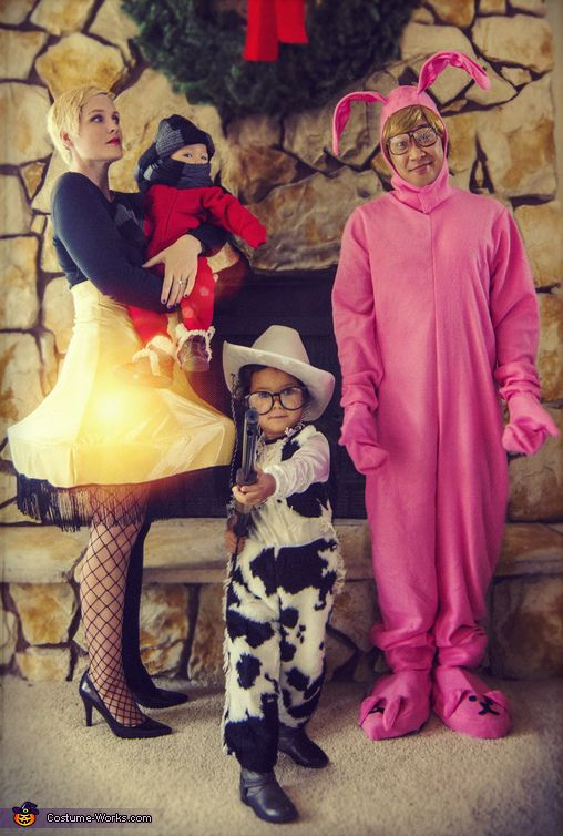 A Christmas Story Family - Halloween Costume Contest at ...