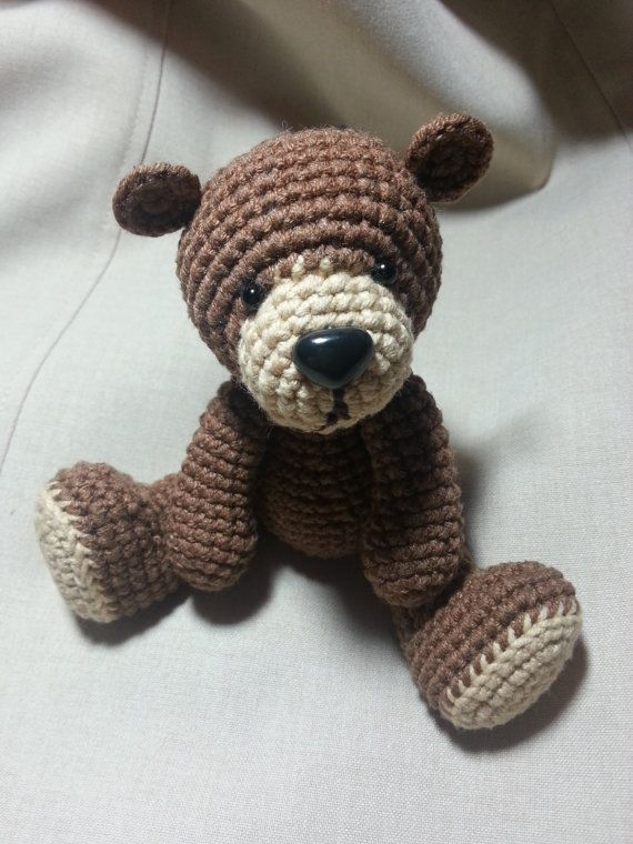 PDF Amigurumi Crochet Pattern - Cute Teddy Bear