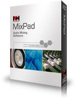 Download MixPad multitrack music recording software for sound track mixing and audio production