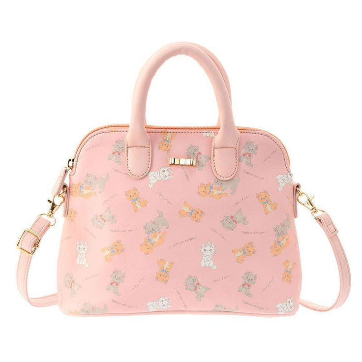 The Aristocats Boston Bag Lovely ❤ Disney Store Japan Marie Toulouse Berlioz