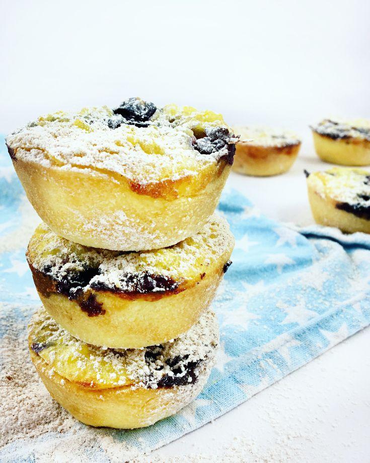 Milchreis-Muffins mit Vanille und Heidelbeeren – Isa & # 39; s Küche   – kleine Kuchen
