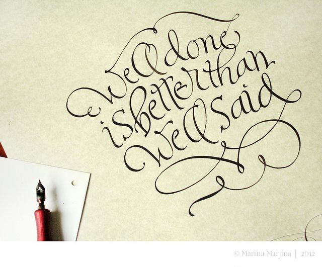 275 Best Images About Calligraphy Flo On Pinterest