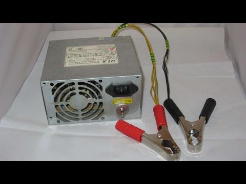 How To Make A 12 Volt 5 Amp Battery Charger - DIY Technology Tutorial - Guidecentral - YouTube