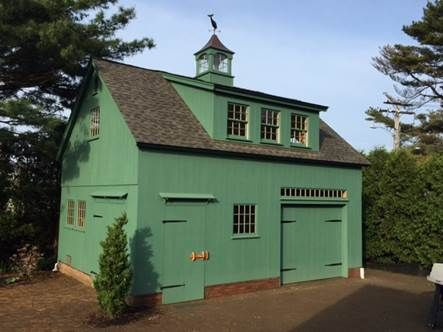 25 best smaller 1 1 2 story barns images on pinterest for Two story pole barn homes