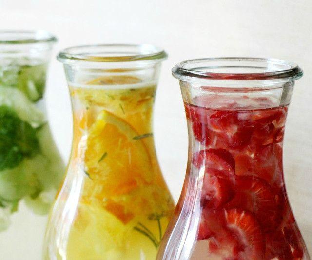 3 Recetas para hacer aguas saborizadas