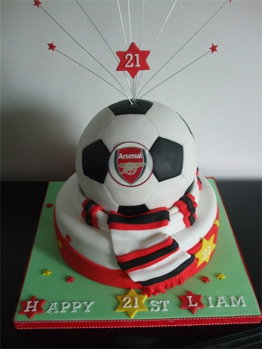 146 best Arsenal Cakes images on Pinterest Arsenal Anniversary