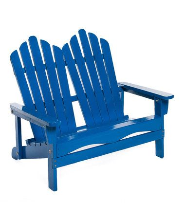 take a look at this royal blue double adirondack chair by oc funsaks