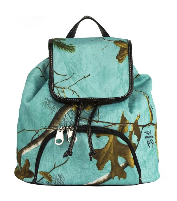 Realtree Camouflage Conceal & Carry Backpack VBP1 Sea Glass