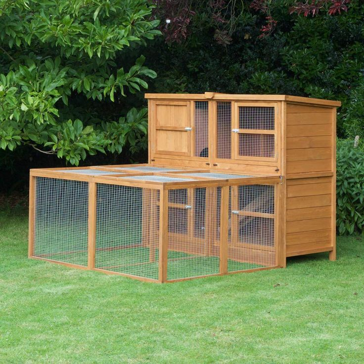 Our 6ft Chartwell Double Rabbit Hutch is perfect for your rabbit. For as little as £199.99 you can have a well-built hutch for your bunny buddy.