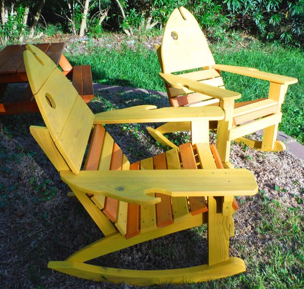 St Augustine Adirondack Rocking Chair Is One Of Our Outdoor Rocking Chairs.  Like A Teak Deck Chair This Porch Rocking Chair Is Made Of Cypress The ... Part 45