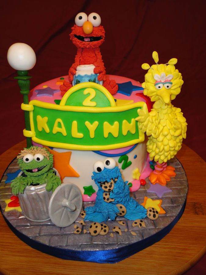 48 best Sesame street images on Pinterest Sesame street cake