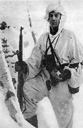 Osmo Tapio Laakso(1916–2004) Knight of the Mannerheim Cross #61. He fought in Winter War(1939-'40) and Continuation War(1941-'44) serving as artillery battery commander, but was a forward observer so he was part of the front line battles most of the war. He was awarded the mannerheim cross on May 19, 1942, for his heroic actions and great leadership. During the war he was also awarded the German Iron Cross 2nd class, and was promoted to Captain. The war ended for his part on ...