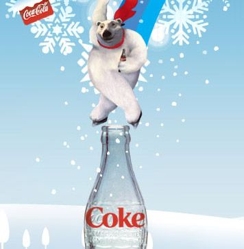 Coca Cola Polar Bear | ... really freaked me out was this image of the Coca-Cola polar bear. WTF