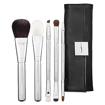 Double Ended Roll Brush Set $60 @ Sephora.com #SephoraColorWash #silver