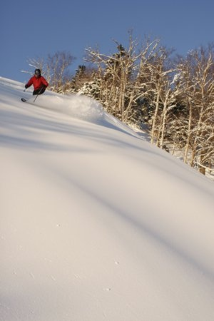 Blue Skys, White Powder. Stowe, VT.   #Stowe