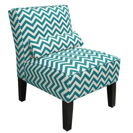 Taylor Accent Chair--#josscontest: Chevron Patterns, Teal Colors, Accent Pieces, Turquoi Chevron, Crafts Rooms, Joss And Maine, Chevron Accent, Turquoise Chevron, Accent Chairs