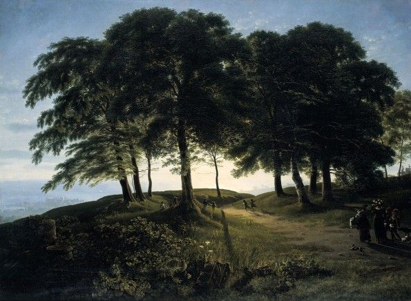 Karl Friedrich Schinkel - Morning  - Alte Nationalgalerie Berlin