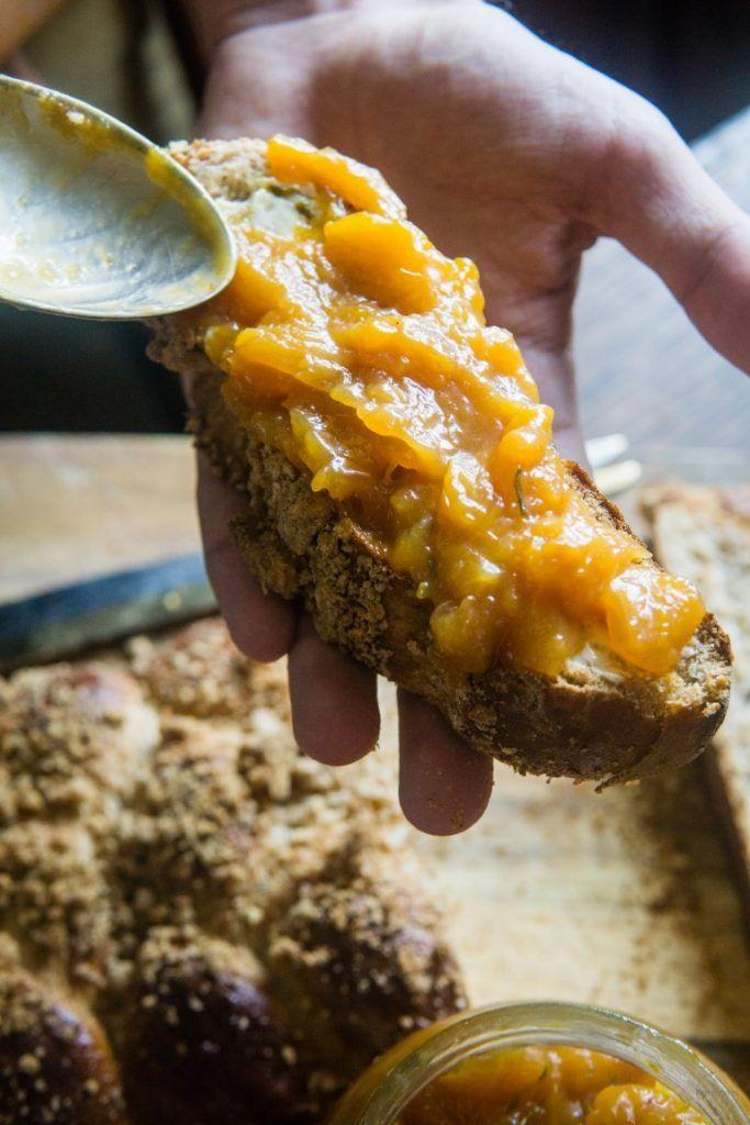 Konfitura brzoskwiniowa z rozmarynem Coś dobrego Pinterest - champignon de maison merule
