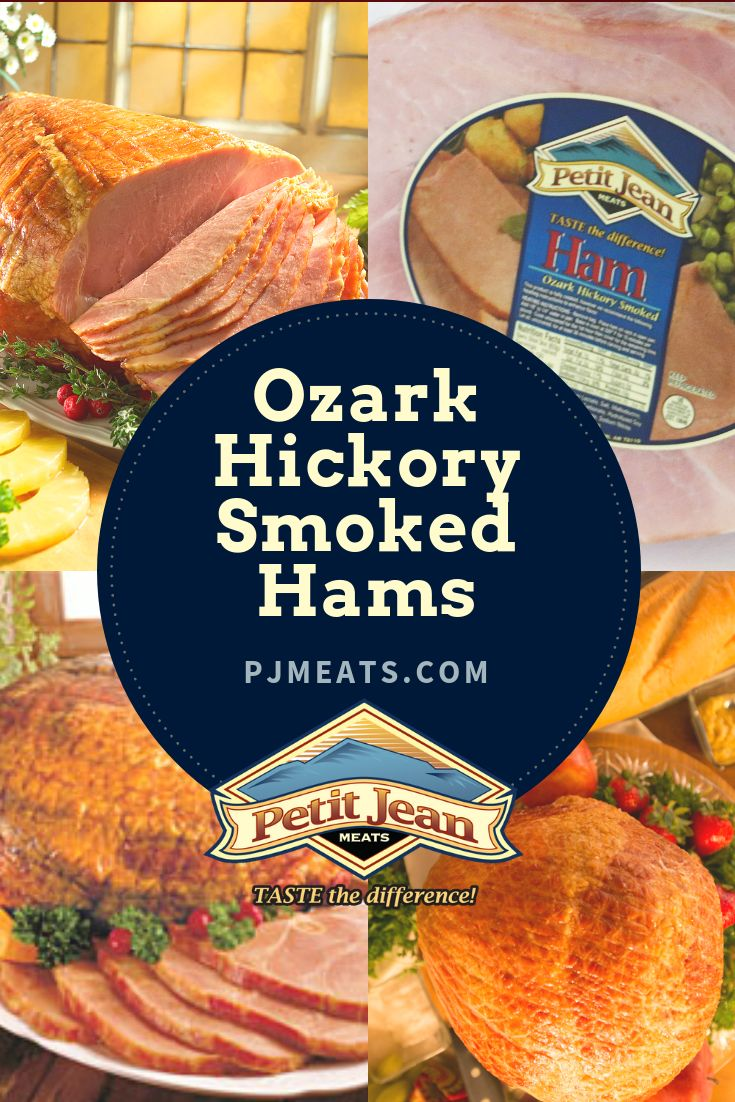 Shop Ozark Hickory Smoked Hams from Petit Jean Meats