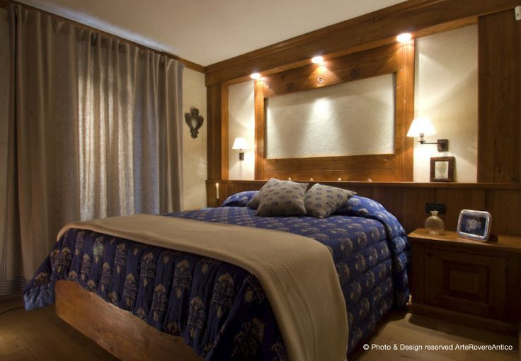 Arte Rovere Antico - Photo by Duilio Beltramone for Sgsm.it - Casa Villa Lenti - Courmayeur Italy - Wood Interior Design