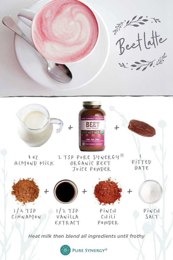 This Beet Latte Is Just What Your Morning Needs Shop Our Organic