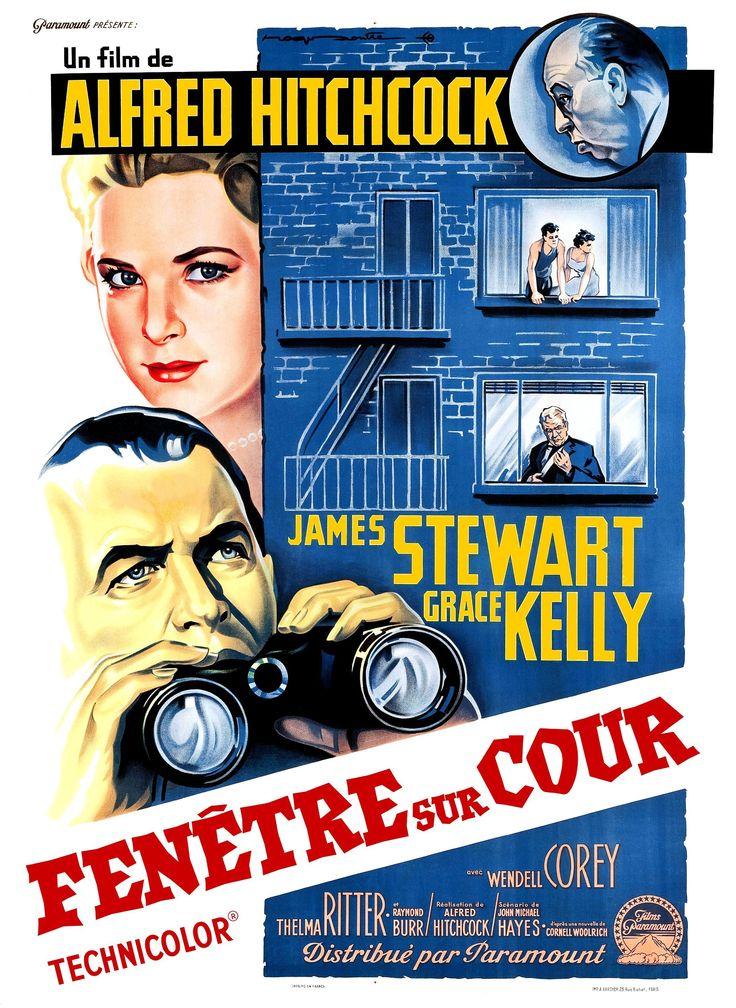 Fenêtre sur cour - Film (1954) - SensCritique