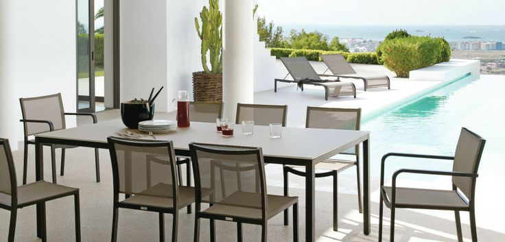 Outdoor Patio Ideas Beige outdoor dining set