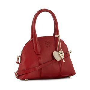 Bailey & Quinn Red 'Astor' leather dome bag- at Debenhams Mobile ...