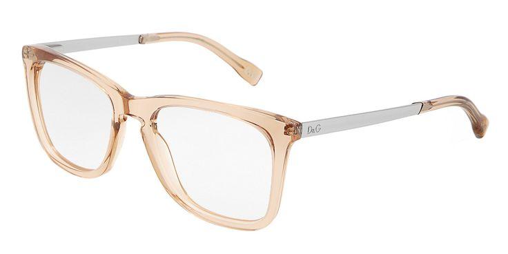 Colección de gafas de vista de mujer Dolce & Gabbana - Montura de plástico naranja