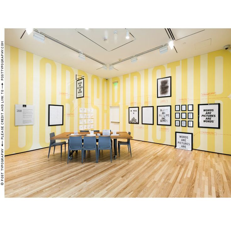 Post Typography | The Big Table | Baltimore Museum of Art
