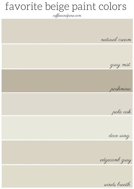 Beige paint colors can still be beautiful and on trend if done correctly! these…